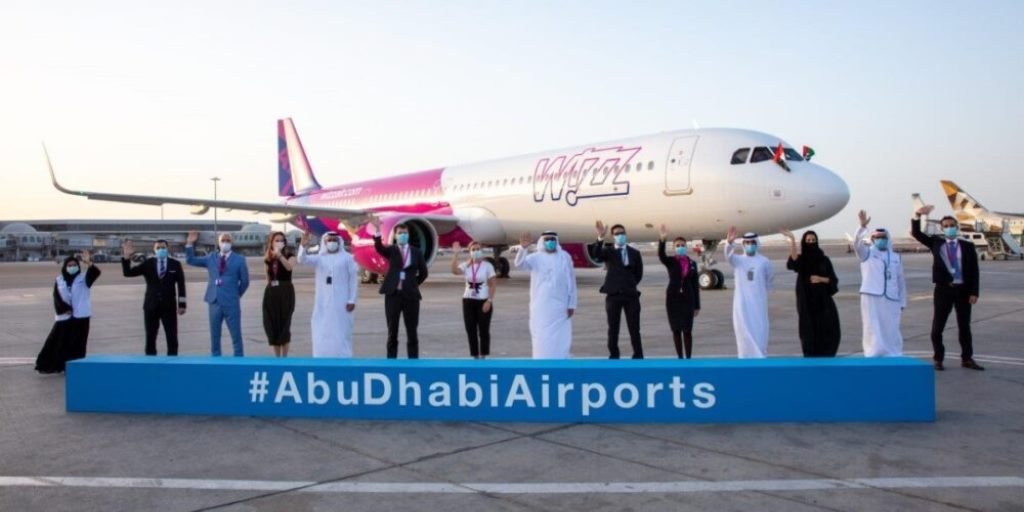 Wizz Air in Abu Dhabi