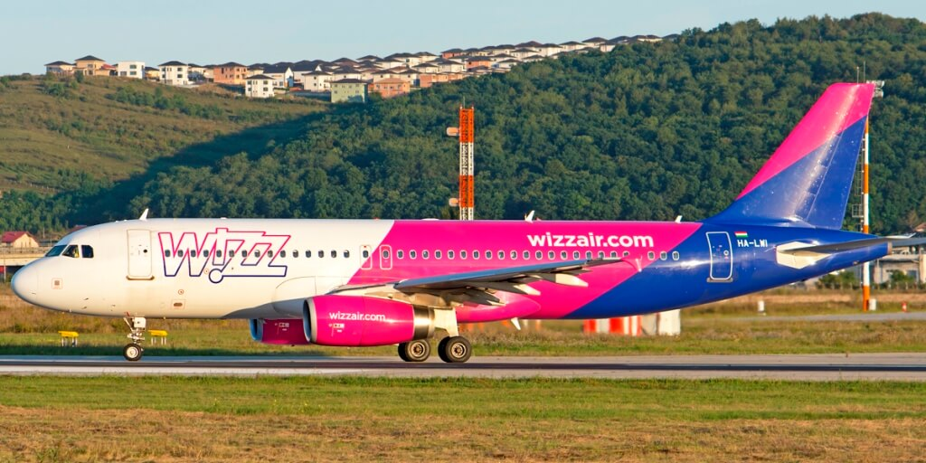 Airbus Wizz Air in Aeroportul International Cluj-Napoca