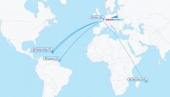 Citește mai mult:Air France extinde reteaua spre Caraibe, Guyana si Reunion